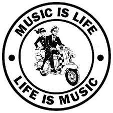 Ska Music Is Life Novelty Fun Car Window Sticker 1 Free New Gifts Ebay