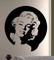 Marilyn Monroe Wall Art Ikea Quotes Uk Sticker Decal For Canvas Decor Amazon Vamosrayos