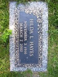 Hilda Mary Lanhardt Hayes (1916-2002) - Find A Grave Memorial
