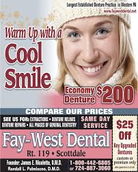 SUNDAY, FEBRUARY 16, 2020 Ad - Fay-West Dental - The Dominion Post
