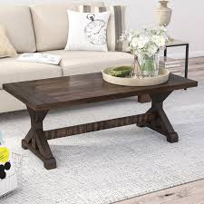 mcwhorter trestle coffee table