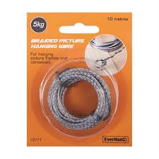 10m 5kg braided picture hanging wire