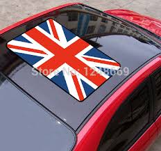 Flag Of The Uk England Car Roof Stickers Waterproof Pvc Car Body Sticker Decal Vinyl Sticker Stickers Model Sticker Watersticker Ipad Aliexpress