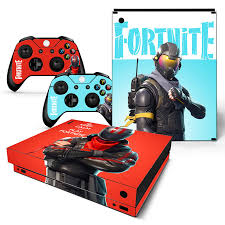 Fortnite Game Console Decal Skin Stickers For Xbox One Console Vinyl Skin 2pcs Ebay