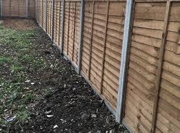 Wooden Garden Fencing Ideas Panels Panel Tops Posts