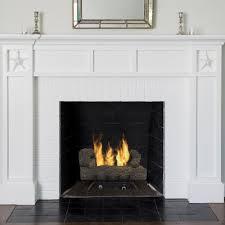 southern oak vent free gas log set