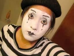 how to make mime makeup mime makeup