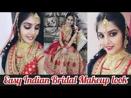 indian bridal makeup tutorial easy