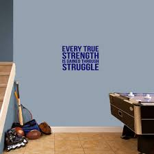 Shop Every True Strength 18 X 12 Wall Decal Overstock 14419577