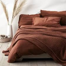 chunky knit bed blanket casaluna in