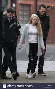 Georgina Lochrane, the mother of Alesha MacPhail, arrives at the ...