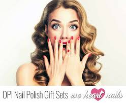 best opi nail polish gift sets the