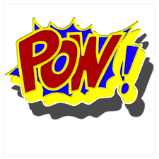 Pow Comic Book Style Wall Art By Giftmonster Cafepress Comic Book Style Poster Wall Art Comic Books