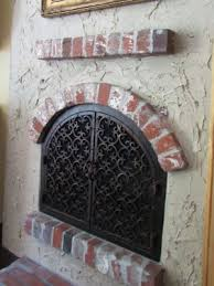 fireplace doors with custom made design