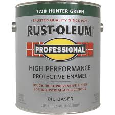Rust Oleum Professional Oil Based Gloss Voc Formula Rust Control Enamel Hunter Green 1 Gal Valu Home Centers For The Do It Yourselfer In You