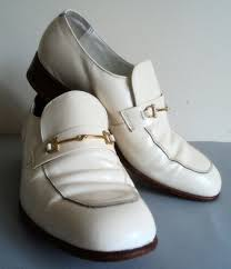 men s white patent leather shoes