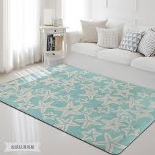 Nordic Sea Fish Carpet For Livingroom And Bedroom Leisure Anti Slip Area Star Rugs Kids Room Play Carpet Blankets Sofamats Carpet Aliexpress