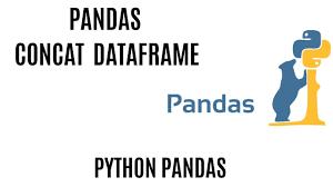 pandas concat concatenation of