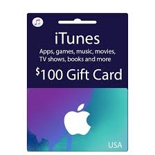 itunes gift card usa 100 india
