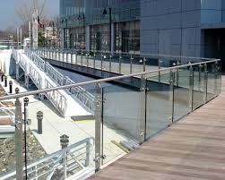 crl arch stainless steel post railing