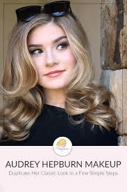 audrey hepburn makeup tutorial