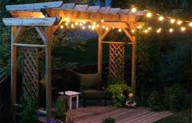 outdoor patio string light lamp for