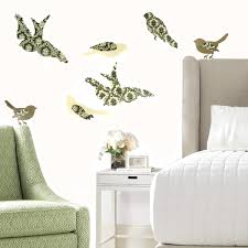 Dcwv Peel N Stick Bird Wall Decals Accents Collage Prints Stickers Reusable Room Art