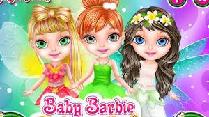 baby barbie fairy salon barbie baby