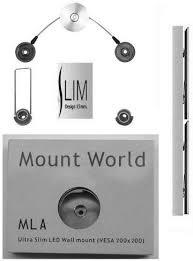 ml3 ultra slim flush wall mount
