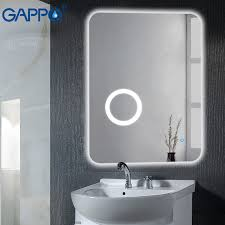 gappo bath mirrors wall mounted led
