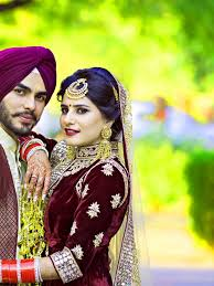 cute punjabi wedding lover love couple