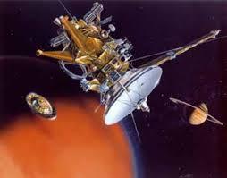 Sonda espacial Cassini-Huygens exploración de Saturno y Titán