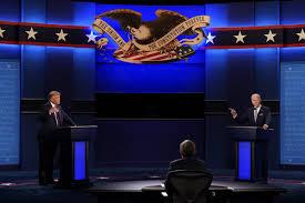 Chaotic first debate: Taunts overpower Trump, Biden visions
