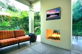 double sided outdoor fireplace techpneu