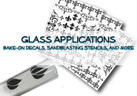 Glass Decals Abr Print
