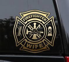 Firefighter Family Member Decal