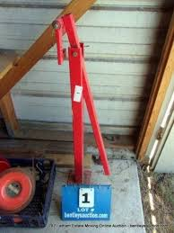 Harbor Freight T Post Puller 38444 Live And Online Auctions On Hibid Com