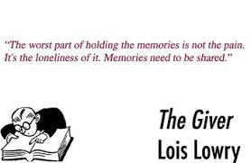 the giver by lois lowry quotes for around the classroom by