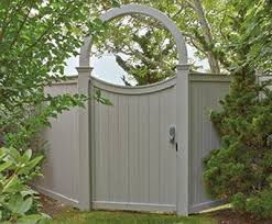 Universal Board Fence And Arched Gate