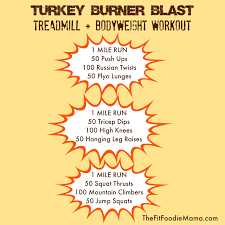 turkey burner blast treadmill
