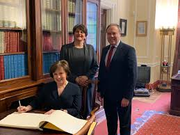 "Diane Dodds MLA on Twitter: ""Today, I am delighted to officially take up my  role as MLA for Upper Bann. It's a great privilege to represent an area  where I was born"