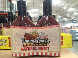 famous daves natural sweet bbq 2 40