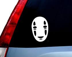 Kaonashi No Face Car Laptop Decal Sticker Ny Graphics50001129 4inch Buy Online In Bahamas Ny Graphics Products In Bahamas See Prices Reviews And Free Delivery Over Bsd80 Desertcart
