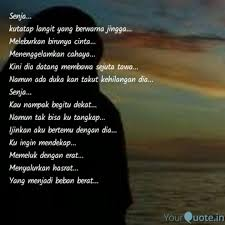 senja kutatap langit y quotes writings by l e ly yourquote