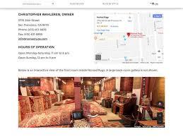 nomad rugs razorfrog web design in