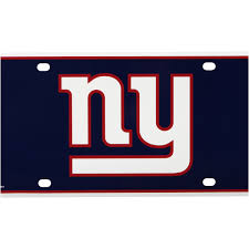 Ny Giants License Plate Walmart Com Walmart Com