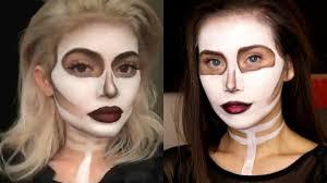 kylie jenner inspired skull halloween