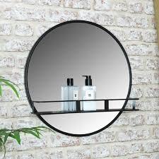 hiibrid modern round floating shelf