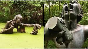 mind bending sculpture park in wicklow