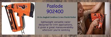 16 gauge angled cordless finish nailer